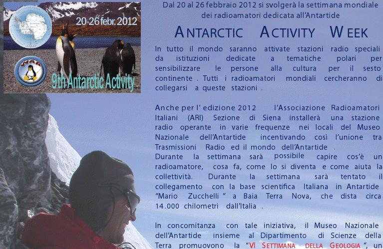 Antarctic Activity Week
