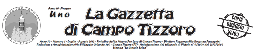 Gazzetta di Campo Tizzoro