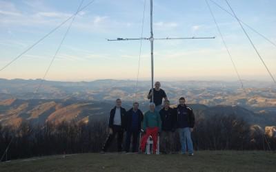 Marconi Memorial Contest 2015 sul Monte Nerone