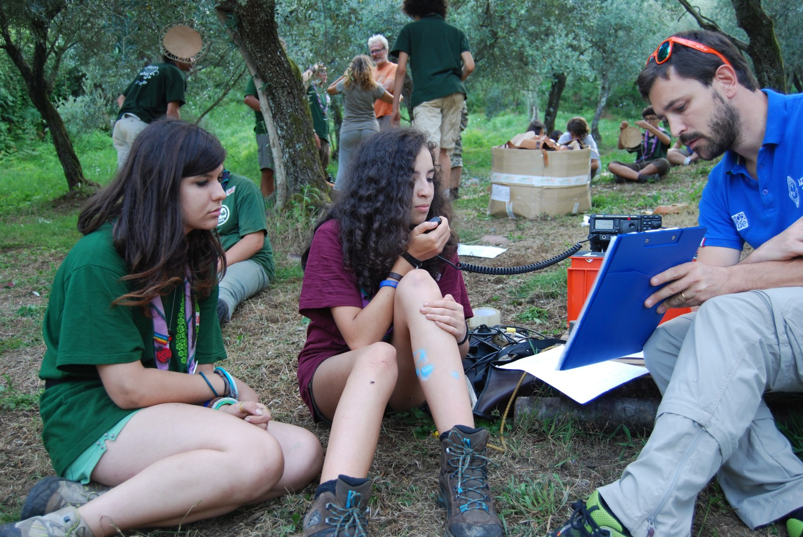 Attività con gli Scout CNGEI Pistoia 1